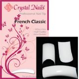 Crystal Nails classic tip 100pcs - french